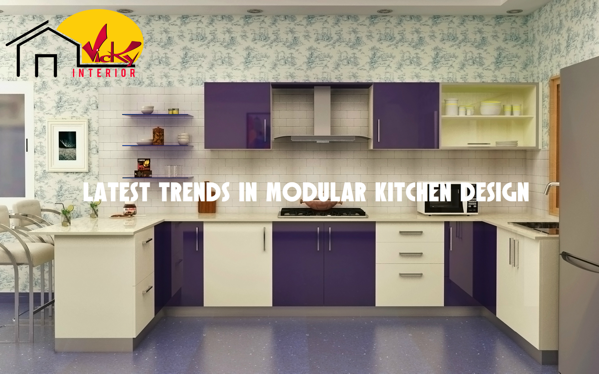 Latest trends in modular kitchen design for Latest kitchen designs